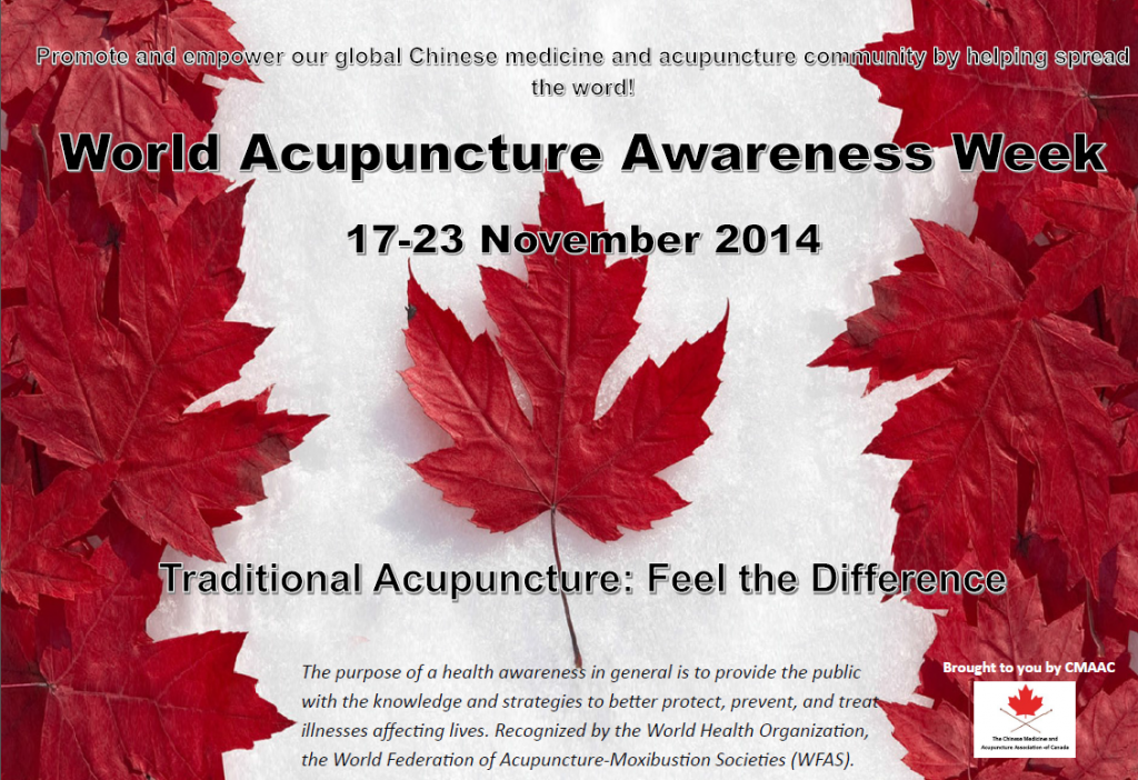World Acupuncture Awareness Week: November 17-23